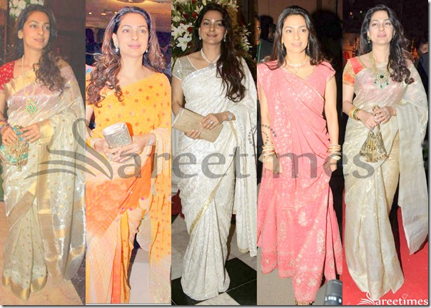 Juhi_Chawla_Saree_Collection