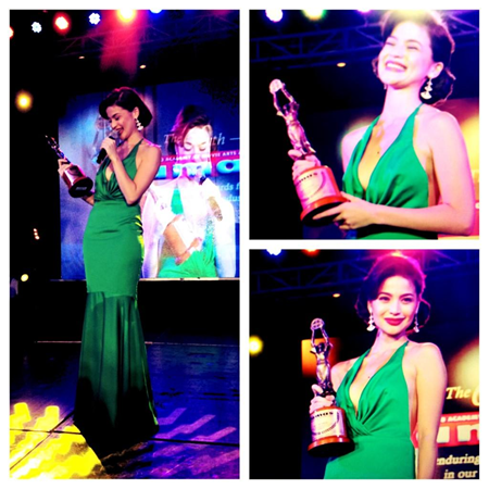 Anne Curtis wins FAMAS Best Actress for No Other Woman