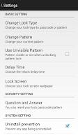 Screenshot of SR App Locker