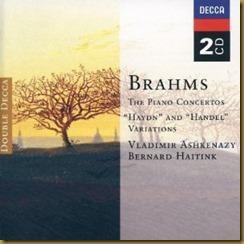 Brahms concierto piano 2 Haitink Ashkenazy