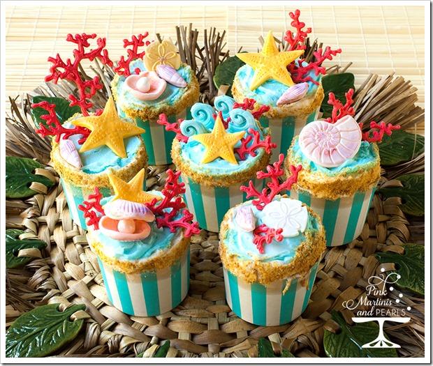 Endless Summer  Beach Cupcakes 900