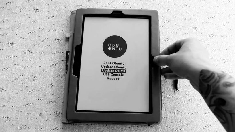 Obuntu – Ubuntu sbarca negli ebook reader