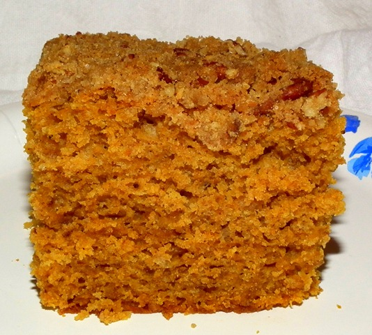 Pumpkin Cake 10-30-11