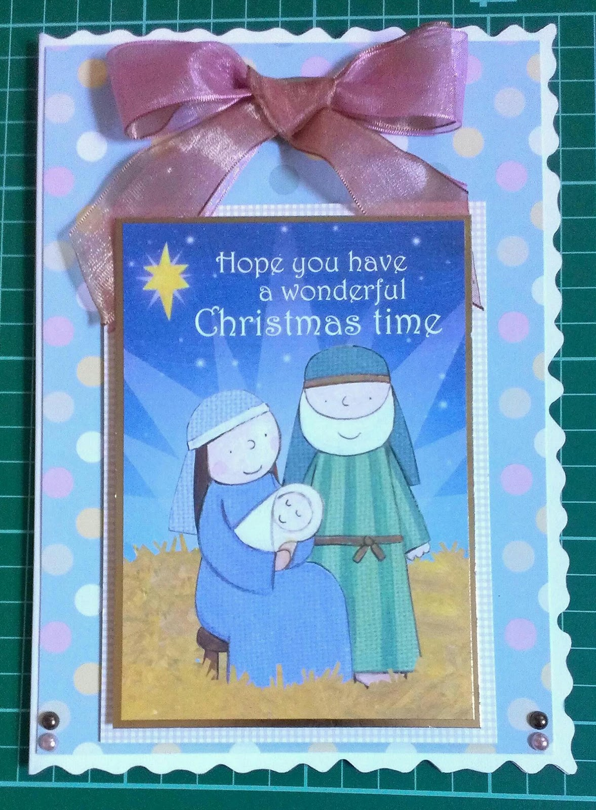 Joyful Occasion Cardmaking: Nativity and Santa Christmas Cards