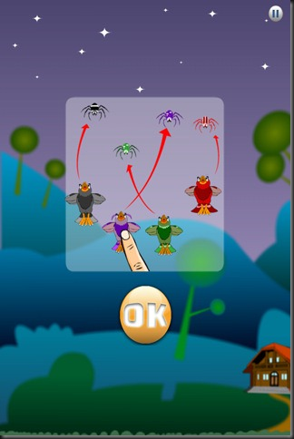 Spiderly Deluxe is the second episode of Spiderly, game in which you control 4 birds to fight against the horde of evil spiders.