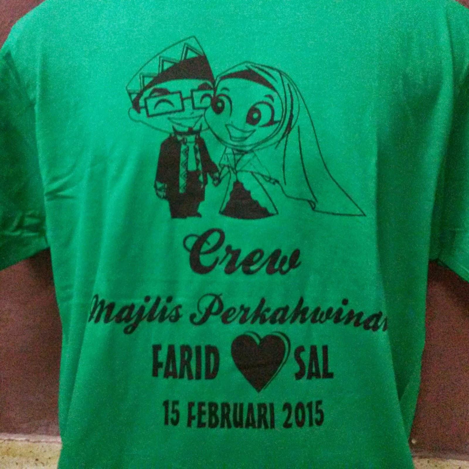 Design t shirt rewang - Tshirt Crew Perkahwinan Sal Farid Qty 30 Helai Your Design We Do Untuk Tempahan Hubungi Kami Pelbagai Warna Menarik Harga Termurah