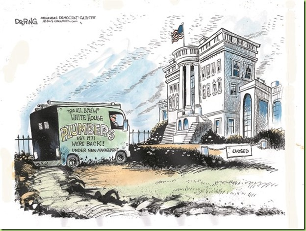 new white house plumbers