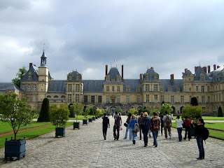 LeChateauDeFontainebleau Le chteau deFontainebleau