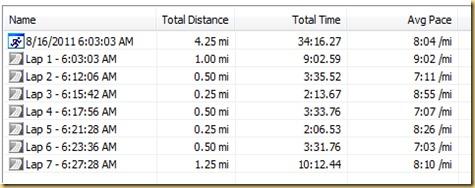 Speedwork Screenshot