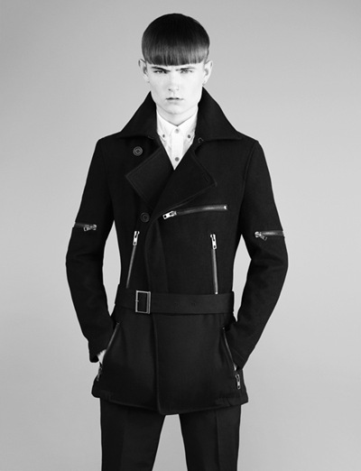 Andy Martin by Ben Toms for Topman F/W 2011. Styled by Robbie Spencer