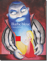 barbe bleue carre rouge