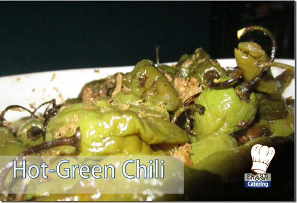 HOT GREEN CHILI ERSSA CATERING CIWIDEY
