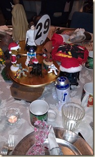Star Wars tablescape 12.15.11