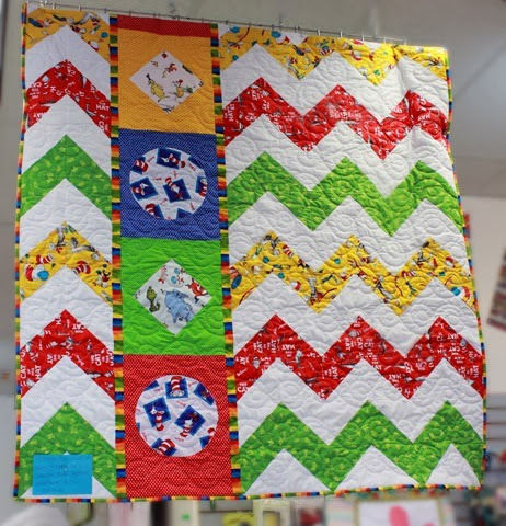 Fun Dr. Seuss Quilt from The Fabric Mill