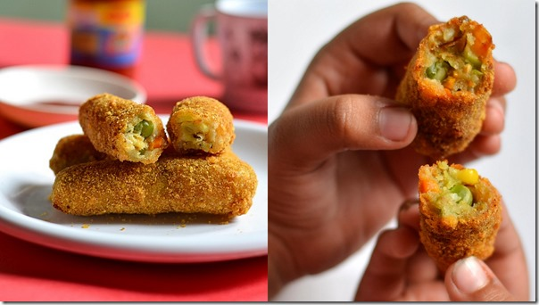 KFC style veg strips