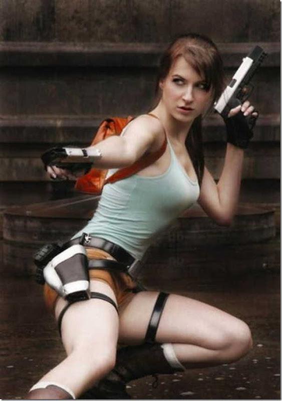 Os melhores cosplays de Lara Croft 21