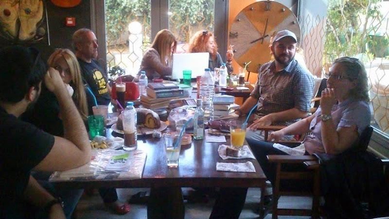 Συναντήσεις των Κεφαλονιτών bookcrossers στην Old House