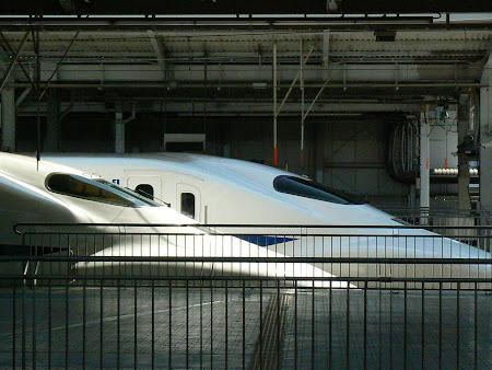 Tren Japonia: Shinkansen in Osaka