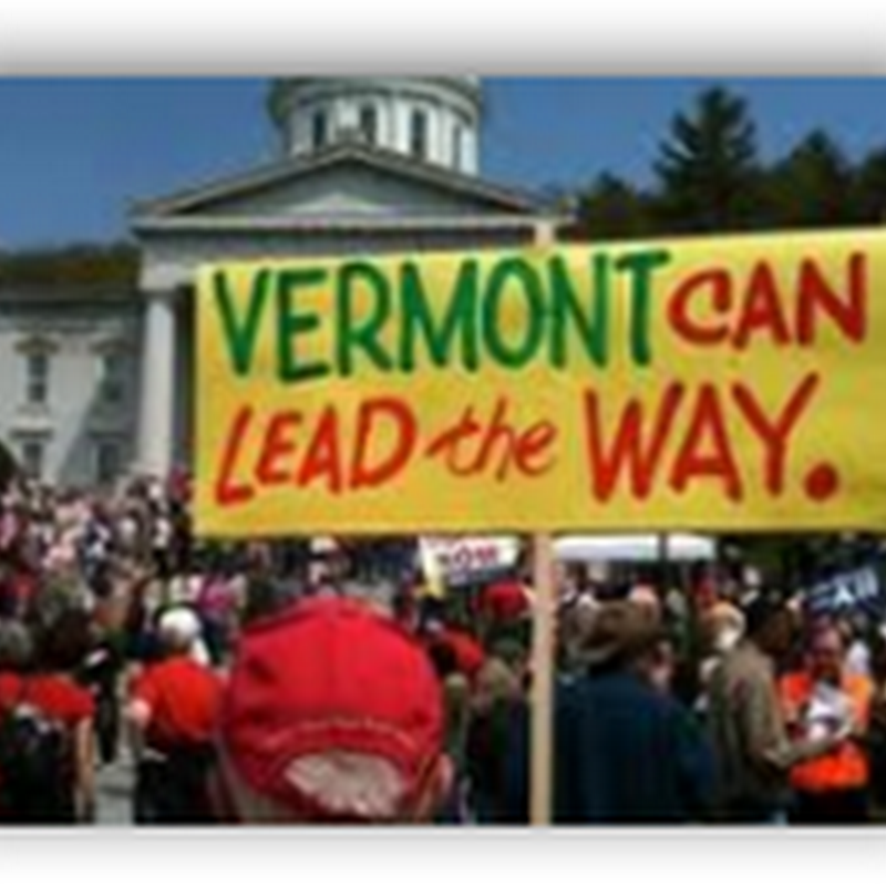 Vermont Governor Signs Single Payer Health Insurance Bill-Coverage Could Begin as Early as 2014