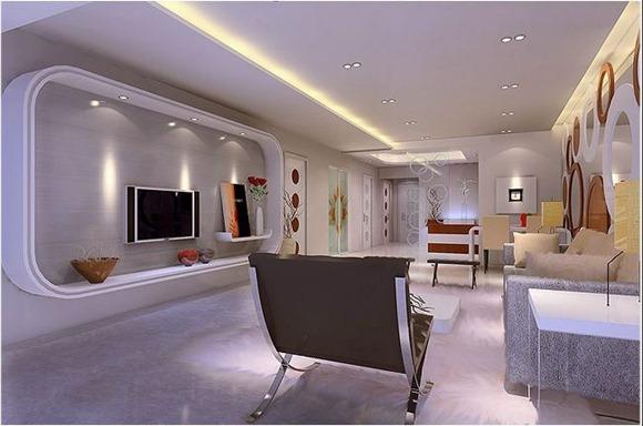Diseños de living donde la TV es el foco de atención
