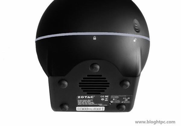 Exterior ZOTAC ZBOX Sphere OI520