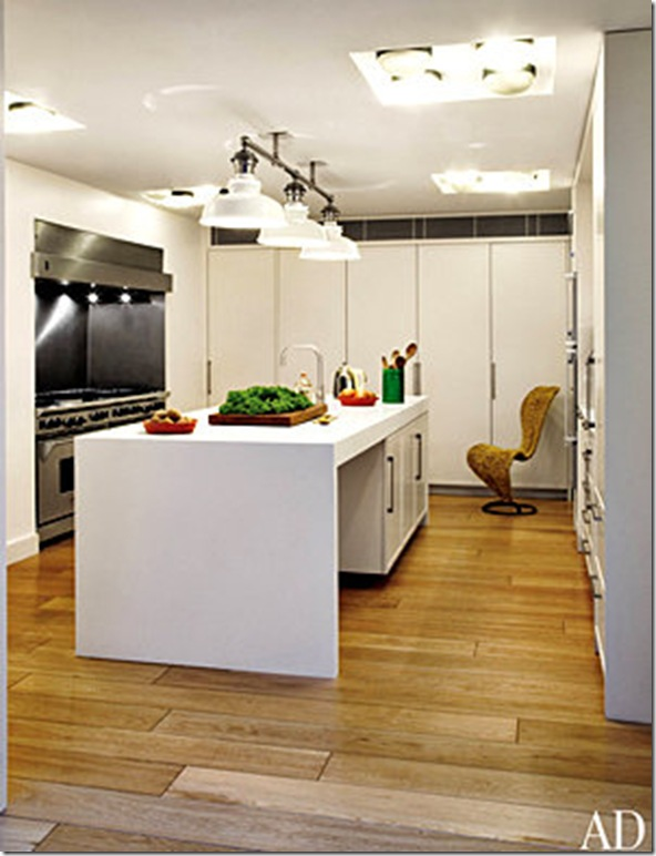 sting and trudie styler's london kitchen