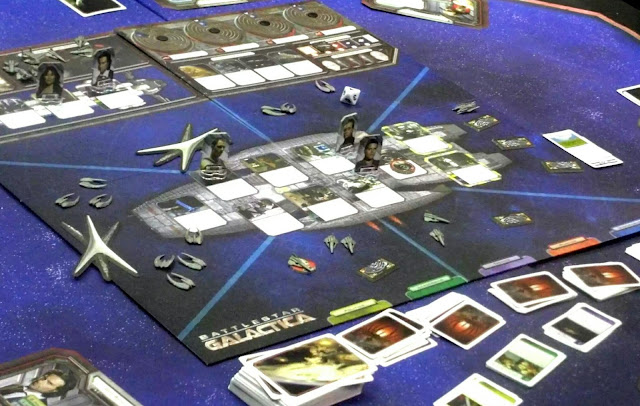 ¡Que de Vipers y Riders Cylon por el tablero!
