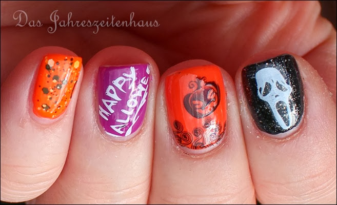 Halloween Nail Art Mix n Match 2