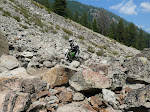 Rocky trails near Fairfield, Idaho