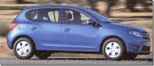 Folie Dacia Sandero Stepway 04