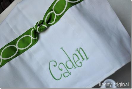 Caden's Ribbon Burpie