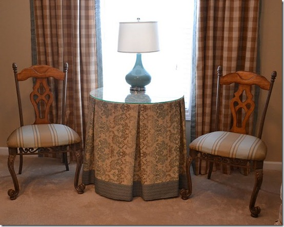 friday feature--pleated decorator table tablecloth from worthing court blog