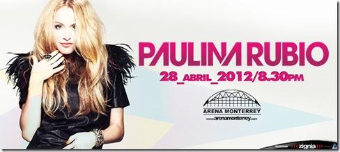 paulina rubio en monterrey 2012 boletos