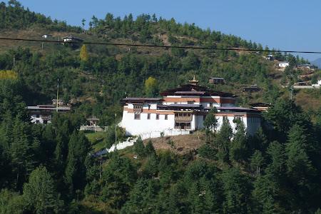 Imagini Bhutan: liceu Thimphu