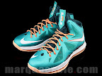 nike lebron 10 gr miami dolphins 1 02 Gallery: Nike LeBron X Miami Setting or Dolphins if you Like