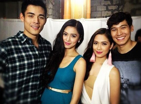 Xian Lim and Enchong Dee