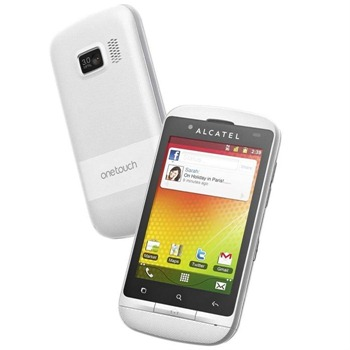 alcatel one touch 918d blanc