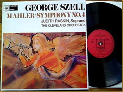 Mahler 4 Szell vinilo