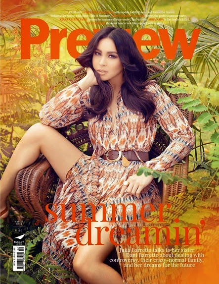 Julia Barretto - Preview March 2015
