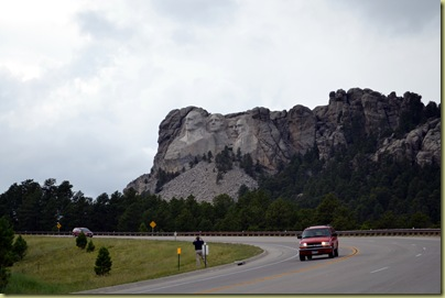 Mount Rushmore Scale
