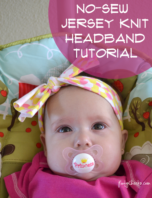 No Sew Jersey Headband Tutorials