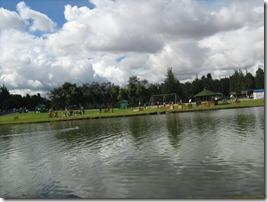 Lago parque Simón Bolívar