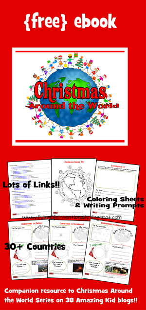 FREE Christmas Around the World!! Christmas Around the World crafts, Christmas around the world activities, Christmas Around the World kindergarten, Christmas around the world preschool, and Christmas Around the World worksheets