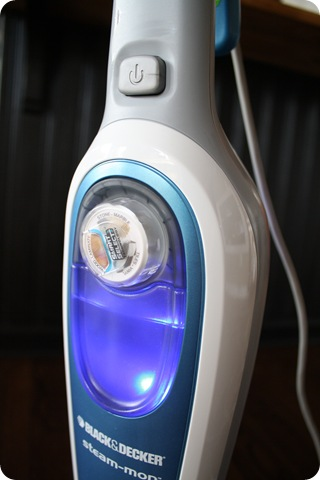 black and decker steam mop