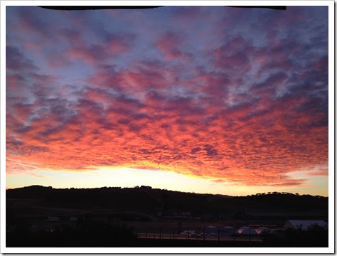 Nov 16-Sunrise Laguna Seca