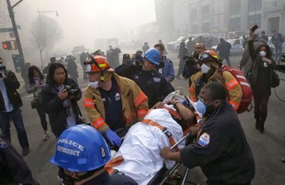 Έκρηξη ισοπέδωσε κτήρια στη Νέα Υόρκη [εικόνες – video]