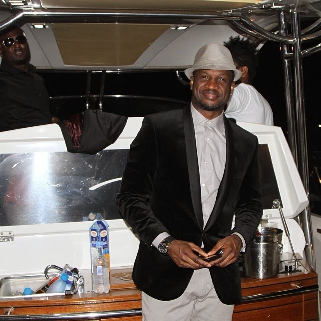 peter okoye family vacation