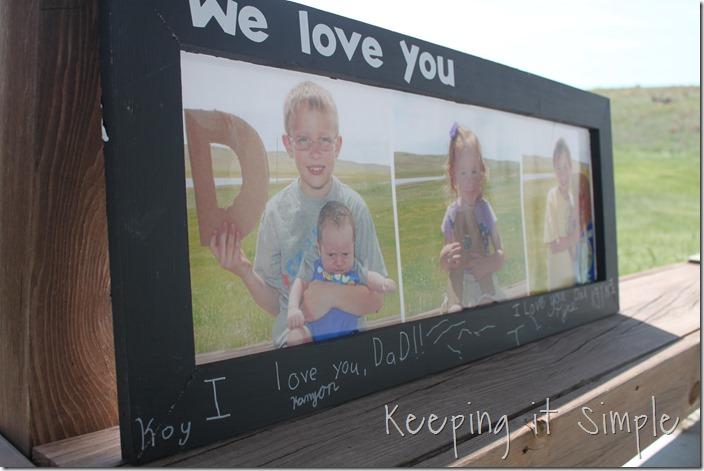 DAD Chalkboard Frame (4)