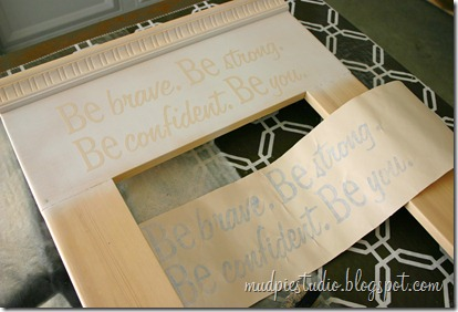 DIY Mirror Makeover from mudpiestudio.blogspot.com