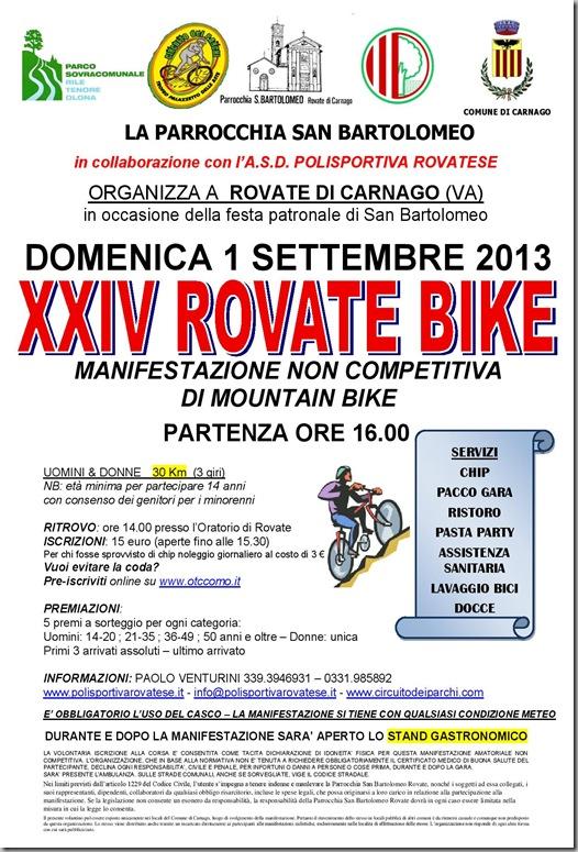 2013.09.01 Rovate bike